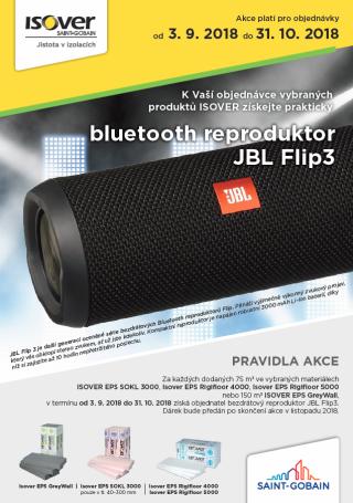 Akce ISOVER JBL FLIP